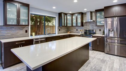 Quartz Kitchen Countertops Have Captured Our Hearts—Here's Why