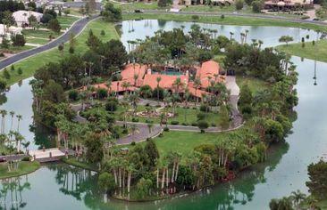 Palatial Island Home in the Arizona Desert for $5.5 Million