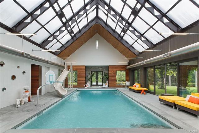 Pool in NY home of Equinox co-founder