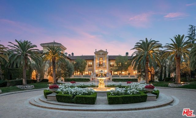 Beverly Hills CA estate exterior