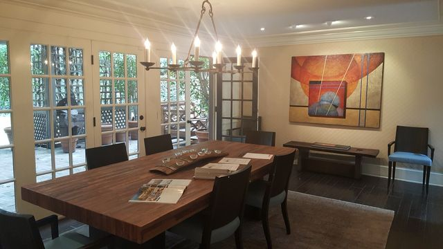 Before / Mandeville Canyon dining room
