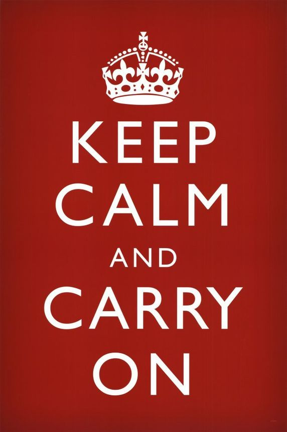 Keep calm and just STOP IT.