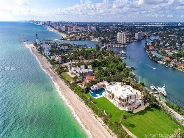 Home for sale in Hillsboro Beach, FL for $139,000,000