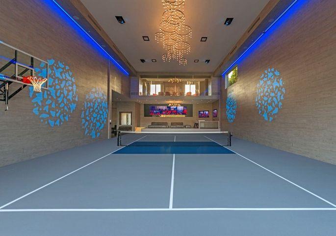 Indoor sports facility