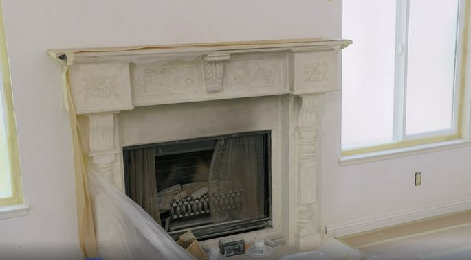 Christina Anstead knew this old fireplace couldn't be saved.
