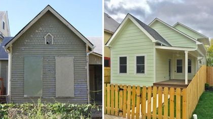 Indianapolis Home Transformed by 'Good Bones' Team Is Now on the Market
