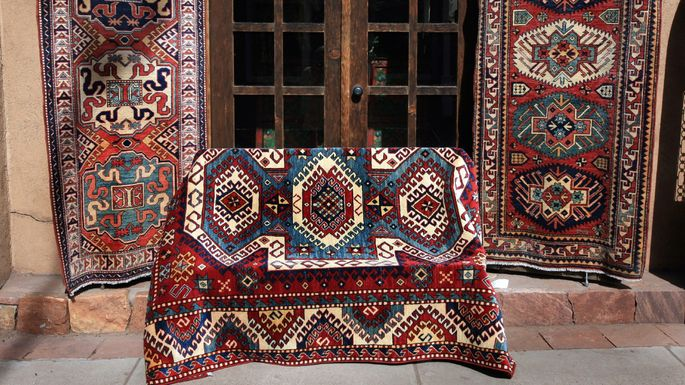 Hand-knotted beauties made in Asia