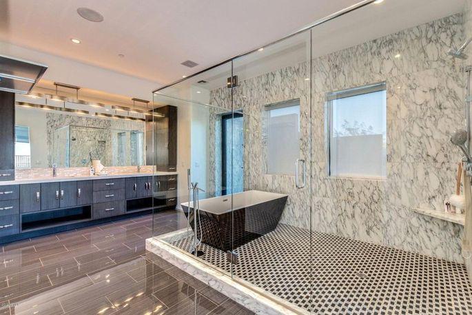 Bathroom of owner's suite