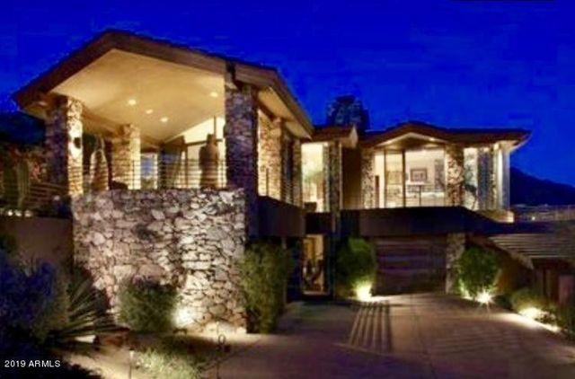 Exterior of Steven Seagal's desert home