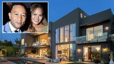 John Legend and Chrissy Teigen List Super-Stylish Beverly Hills Home for $23.95M