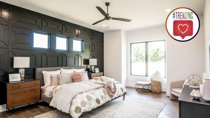 instagram bedroom with seal