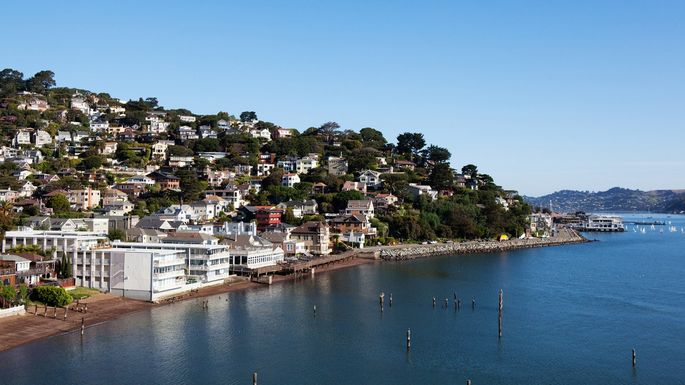 Sausalito, CA, in Marin County
