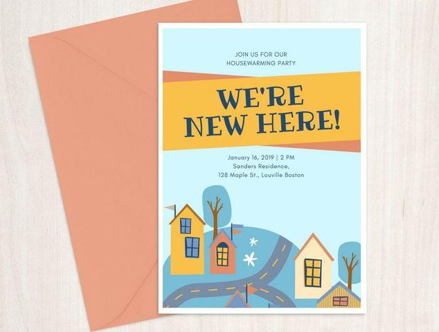 housewarming invites