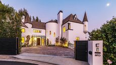 Cool Castle in the Hollywood Hills Is a One-of-a-Kind Offering