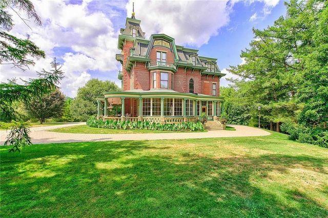Highland Park PA victorian home exterior