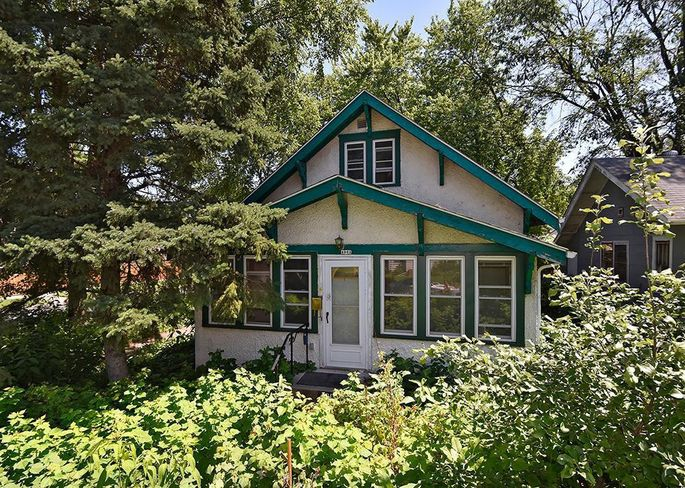 A three-bedroom home in Minneapolis for $230,000
