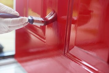 How to Paint an Exterior Door So It Looks Brand New Again