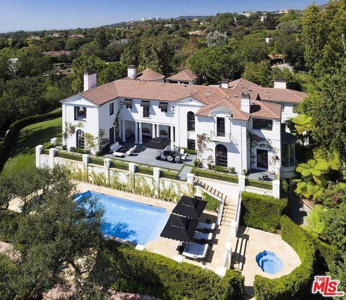 Simon Fuller's Bel Air estate