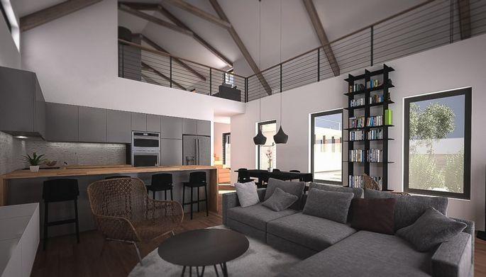 Axiom house interior