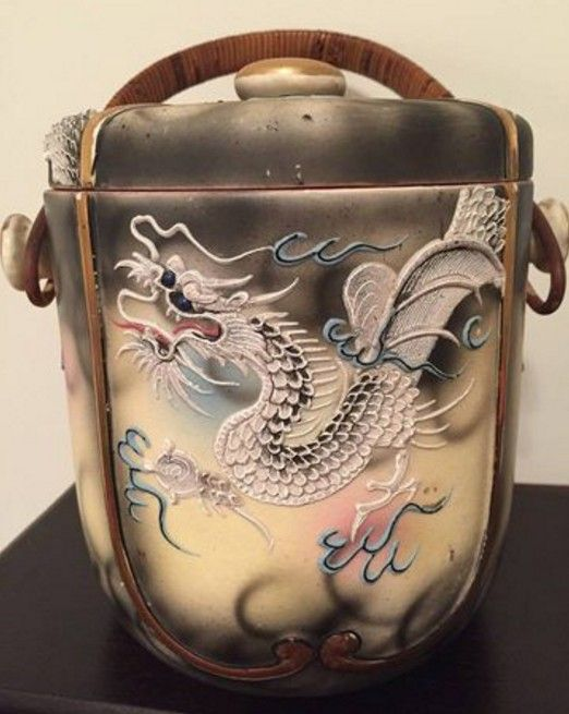 Amy Barger Roberts' vintage Japanese ice bucket
