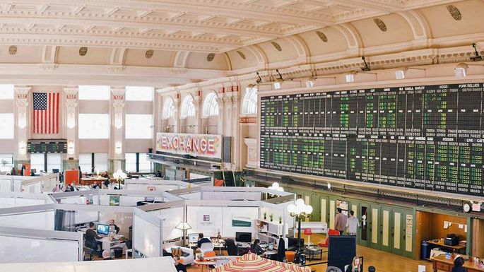 The COCO space in the former Minneapolis Grain Exchange