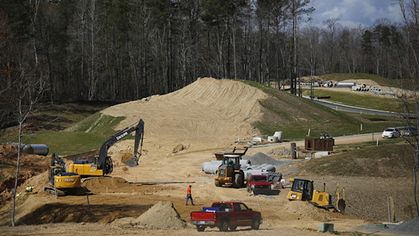 Construction Spending Eases in March After a February Blowout