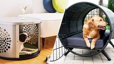 7 Dog Crates Cleverly Disguised as Tables, Ottomans, and Other Fine Furniture