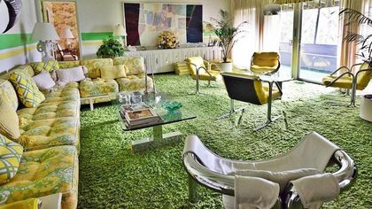 Shag Carpet Everywhere! Must-See Time-Capsule Home From 1971