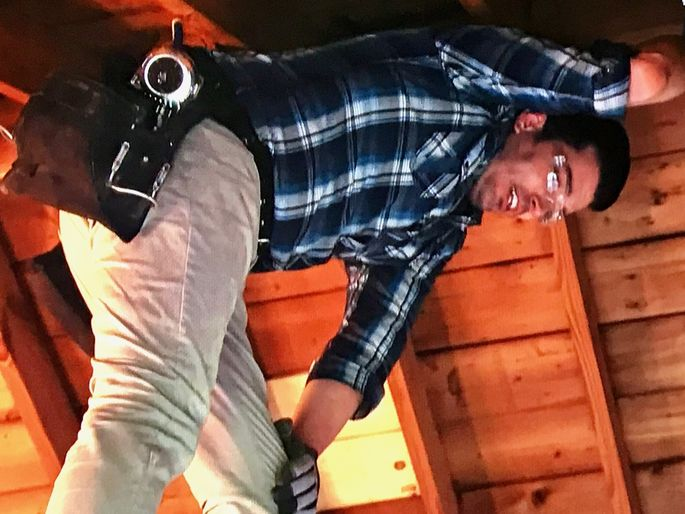 Jonathan raises the ceiling.