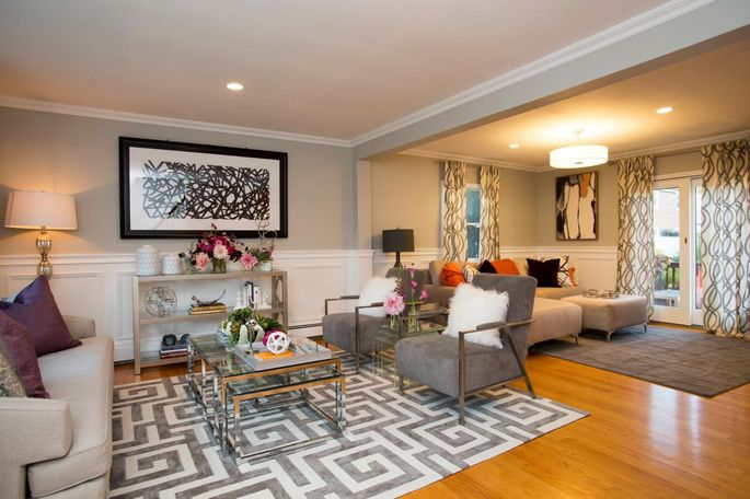 Furniture And Carpets Help Divide Large Rooms Into Defined Sections With Specific Purposes Without Closing