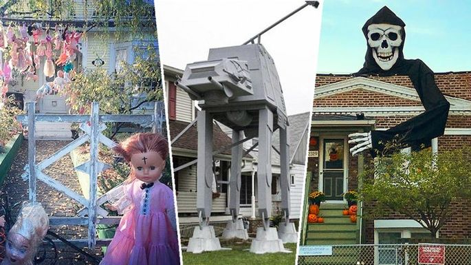 Attractive 7 Homes Whose Halloween Decorations Are Impressively Over The Top