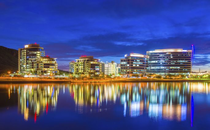 Tempe's downtown skyline spotlights why this city made the top 10.