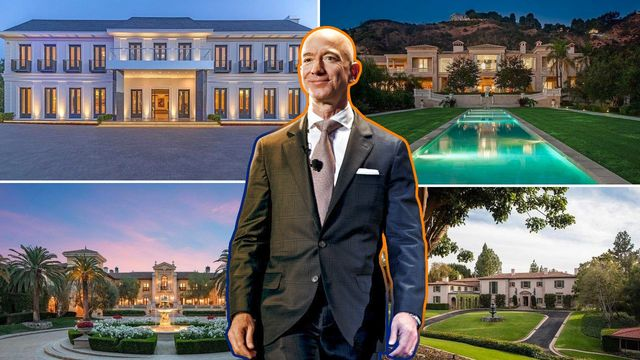 Jeff Bezos Is Shopping for a $100M-Plus L.A. Home: Which One?   realtor.com®
