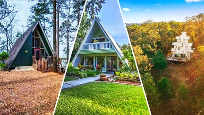 Change the Shape of Your Life in One of These 7 Awesome A-Frame Homes