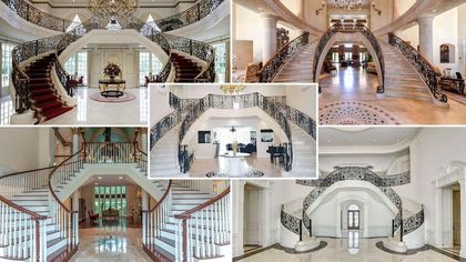 Almost Queen for a Day: Princess Staircases You'll Want to Glide Down