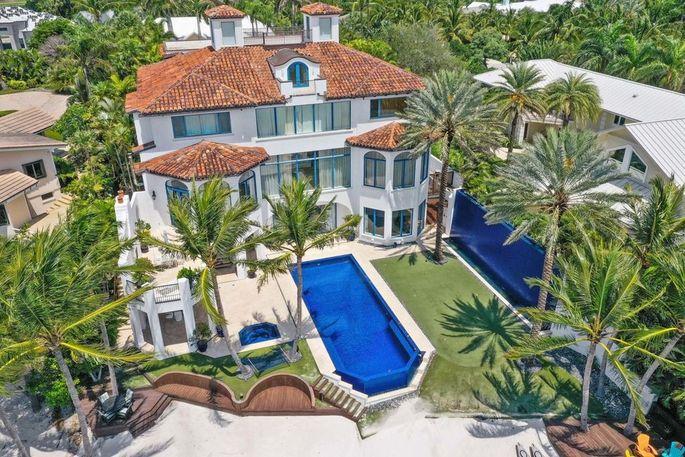 Jesper Parnevik's house in Tequesta, FL