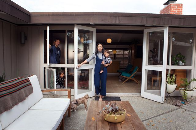 Matt Leaver and Krysta Lin spent four years restoring their 1953 ranch house designed by Cliff May, part of May's Lakewood Rancho Estates development in Long Beach, Calif.