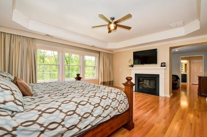 Themaster bedroom
