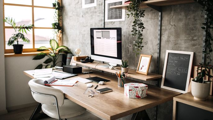 Workplace of an Architect