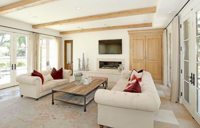 Alex Smith's European-style villa in Monte Sereno, CA