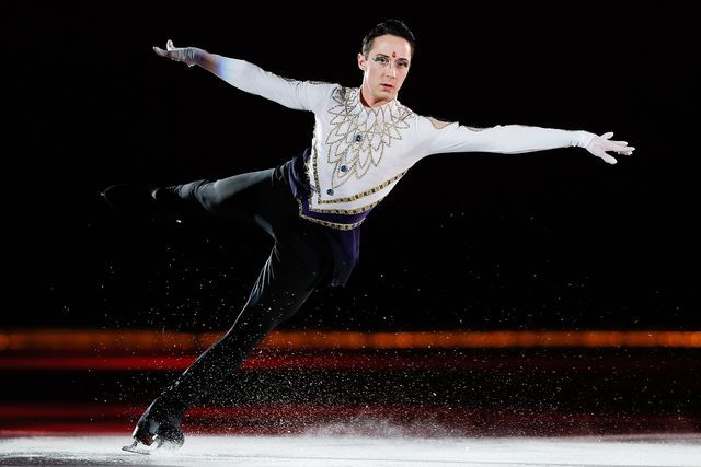 Figure Skater Johnny Weir performs during the 2014 Artistry On Ice Beijing at Beijing MasterCard Center on July 25, 2014 in Beijing, China.
