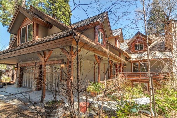 David Arquette's Lake Arrowhead cabin
