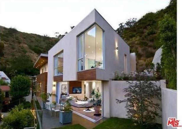 Crystal Hefner's Hollywood Hills home for sale