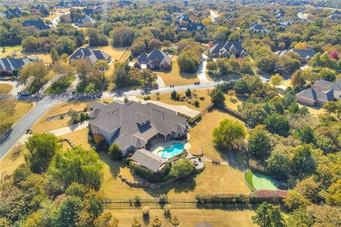 Russell Westbrook's Oklahoma home