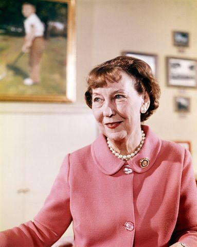 Former First Lady Mamie Eisenhower