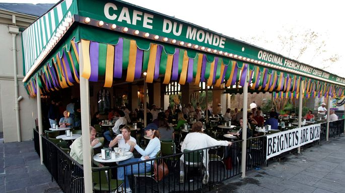 There aren't many other cities where you can take a beignet break.