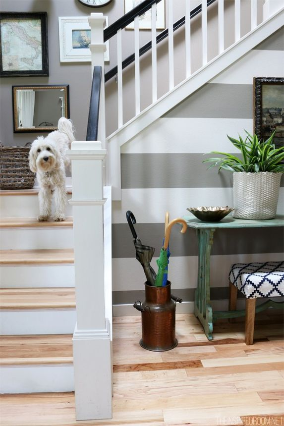 Michaels' charmingly inviting entryway
