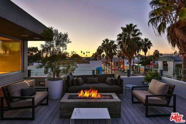 Venice Beach rooftop