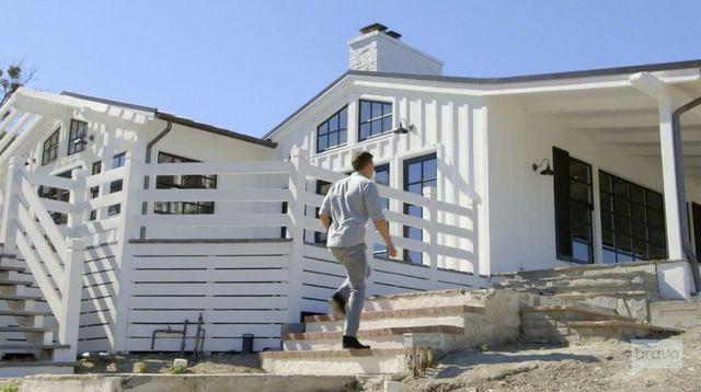 Jeff Lewis heads up to his own farmhouse renovation