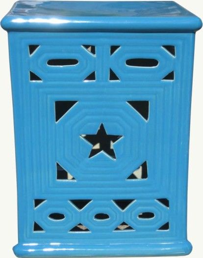 Ceramic Garden Stools Can Be Used Outdoors And Inside